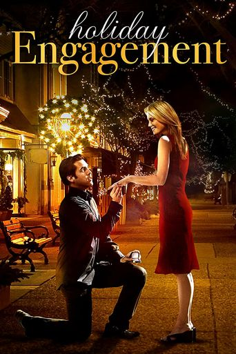 A Holiday Engagement Poster