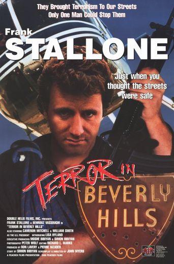 Terror In Beverly Hills Poster