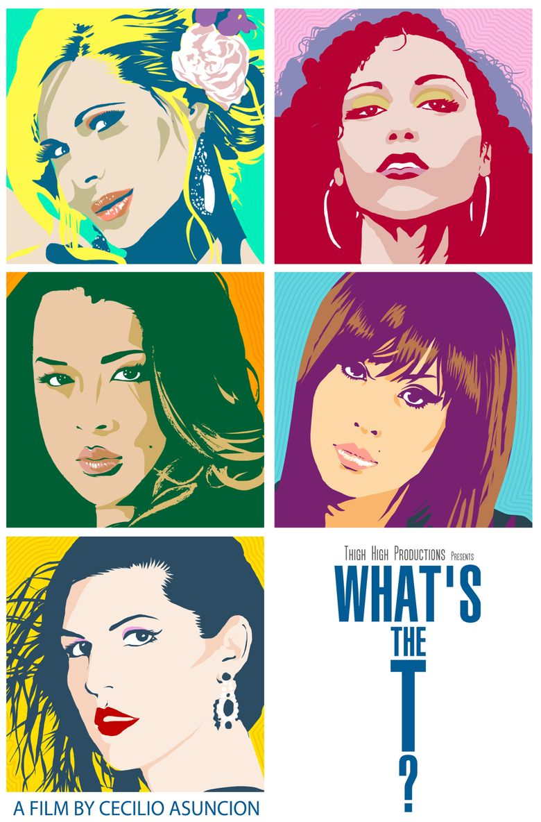 What's the T? Poster