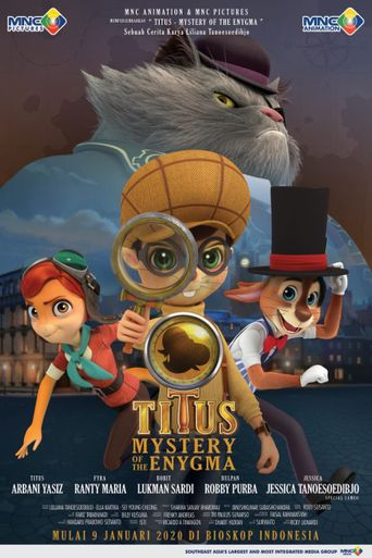 Titus: Mystery of the Enygma Poster