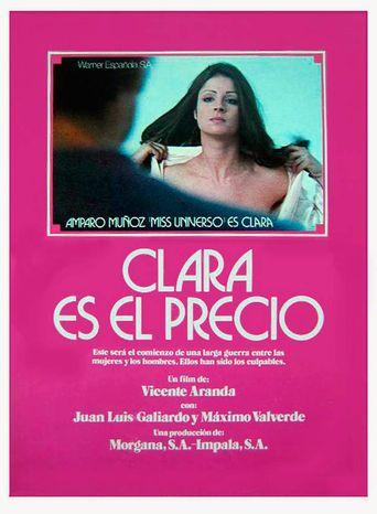 Clara es el precio Poster