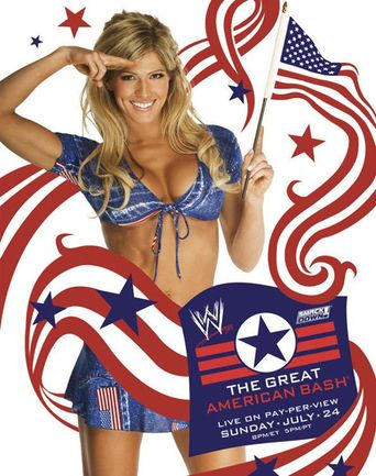WWE The Great American Bash 2005 Poster