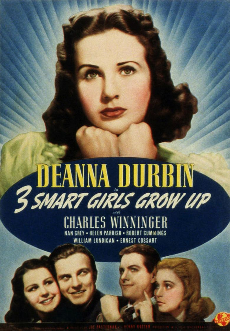 Three Smart Girls Grow Up Poster