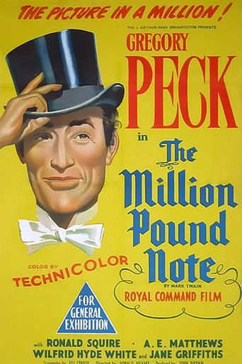 The Million Pound Note Poster