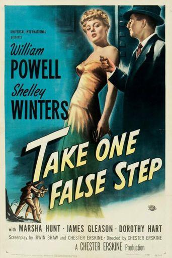 Take One False Step Poster