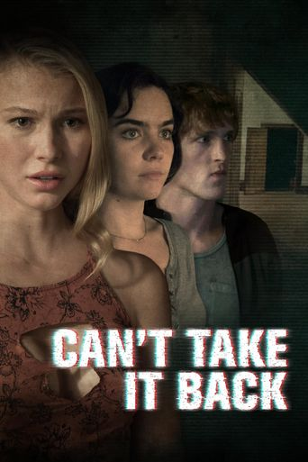 Can't Take It Back Poster