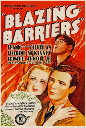Blazing Barriers Poster