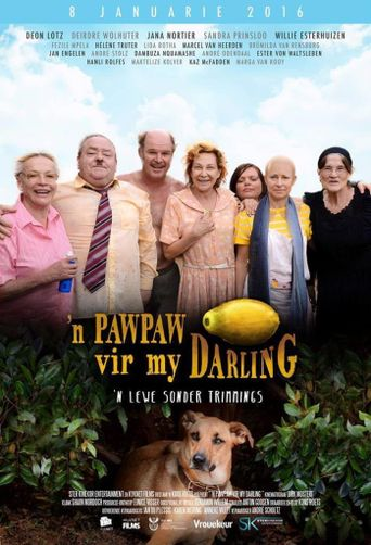 A Paw-Paw For My Darling Poster