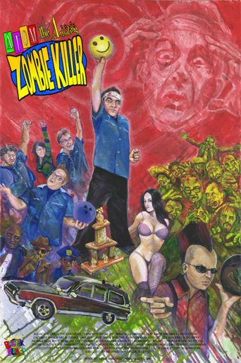Atom the Amazing Zombie Killer Poster