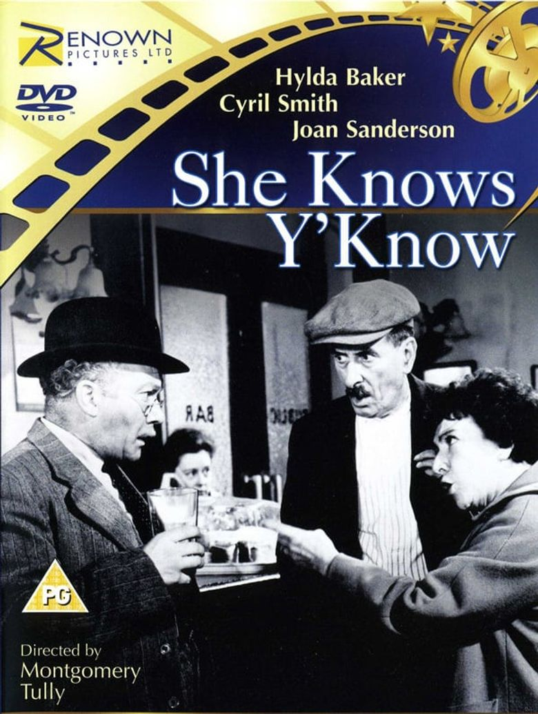 She Knows Y'Know Poster
