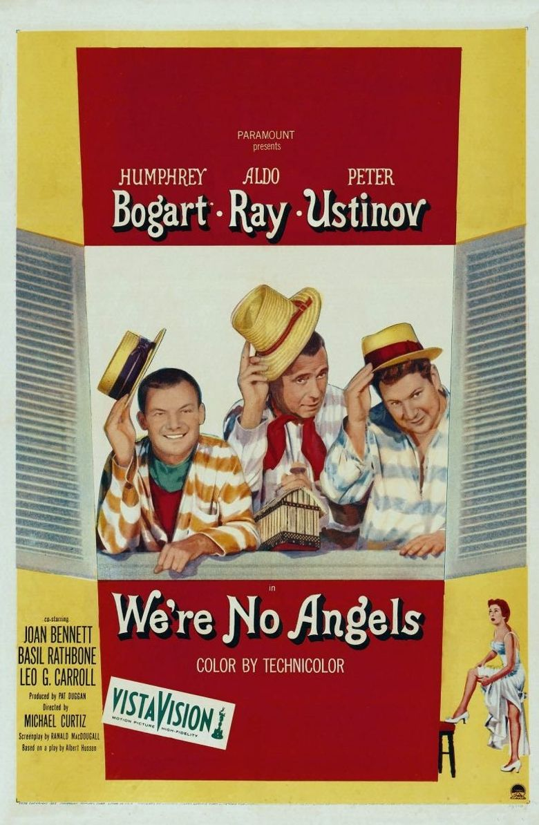 We're No Angels Poster