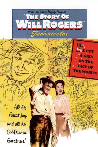 The Story of Will Rogers Poster