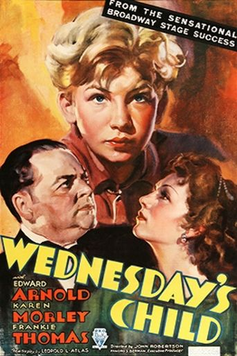 Wednesday's Child Poster