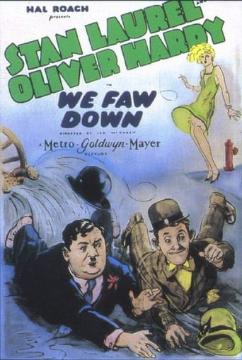 We Faw Down Poster