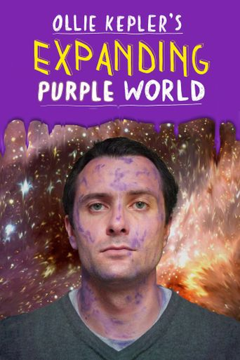 Ollie Kepler's Expanding Purple World Poster
