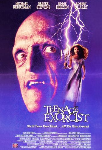 Teenage Exorcist Poster