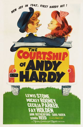 The Courtship of Andy Hardy Poster