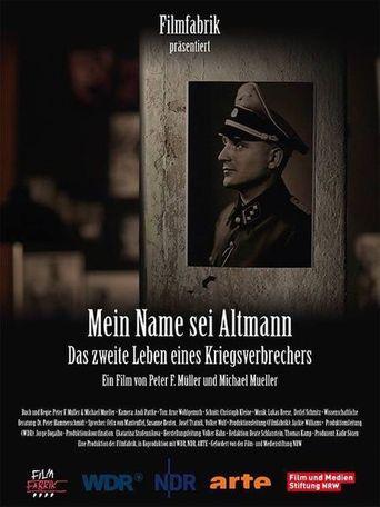 Mein Name sei Altmann Poster
