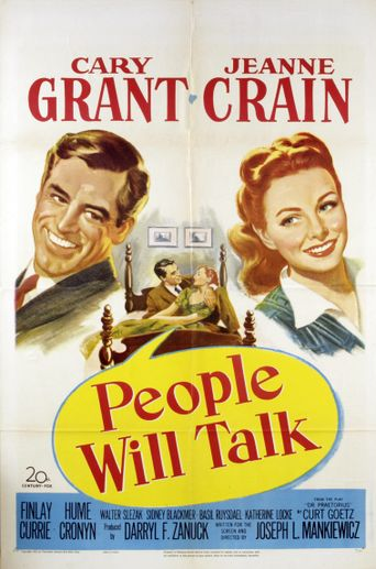People Will Talk Poster