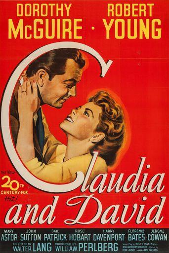 Claudia and David Poster