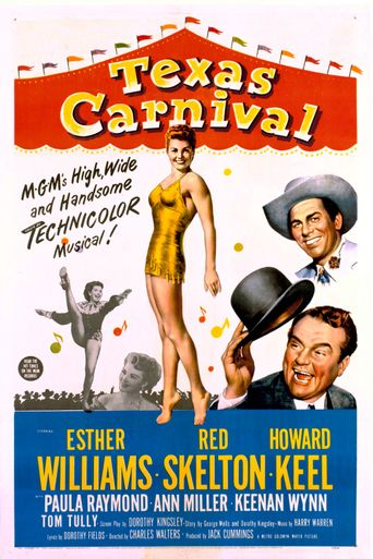 Texas Carnival Poster