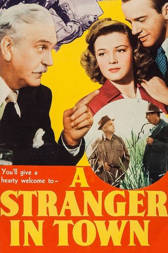 A Stranger in Town Poster