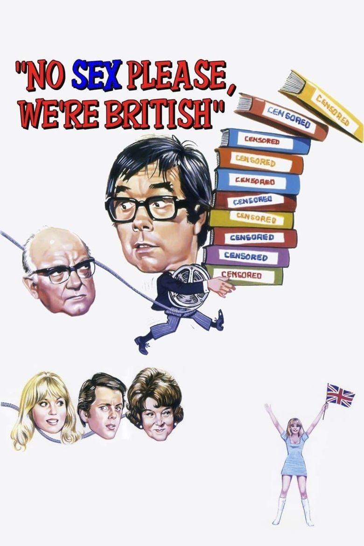 No Sex Please: We're British Poster