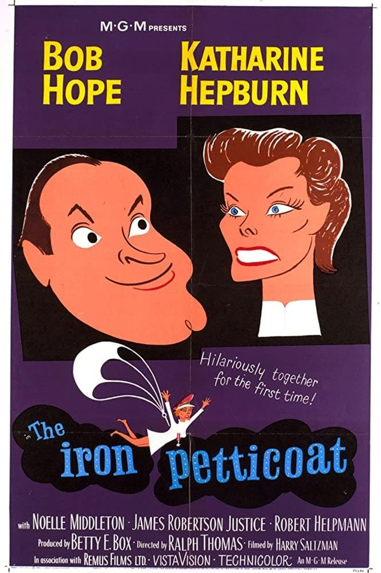 The Iron Petticoat Poster