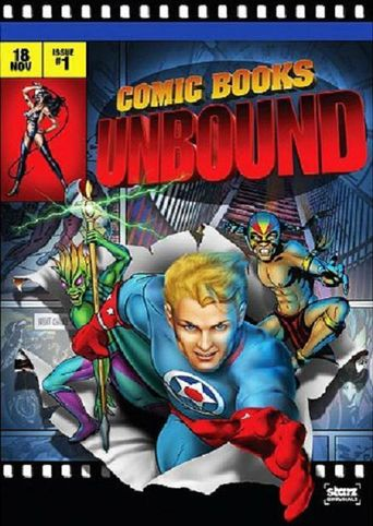 Starz Inside - Comic Books Unbound Poster