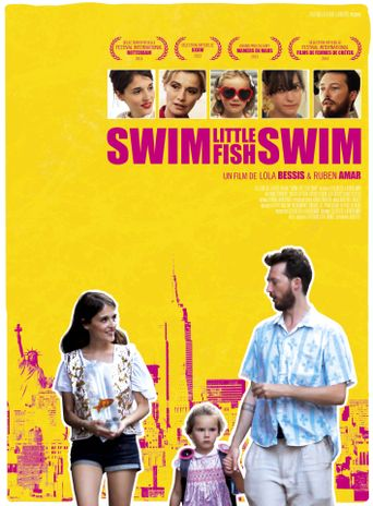 Swim Little Fish Swim Poster