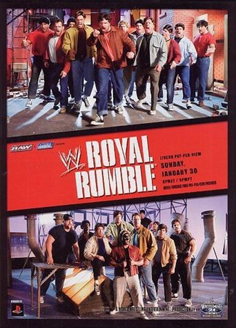 WWE Royal Rumble 2005 Poster