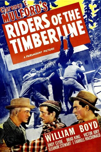 Riders of the Timberline Poster