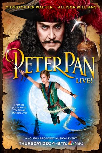 Peter Pan Live! Poster