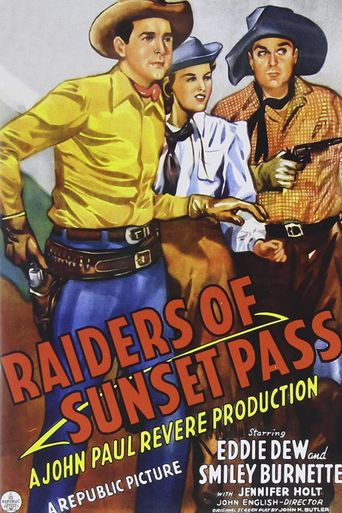 Raiders of Sunset Pass Poster