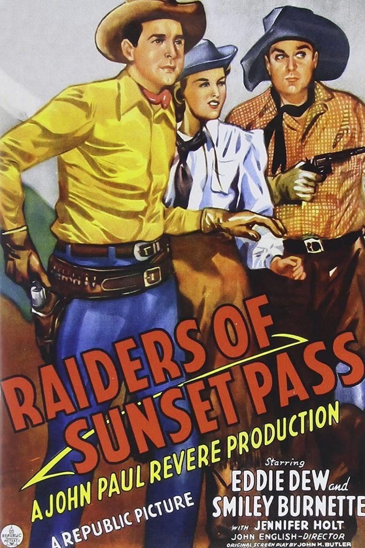 Raiders of Sunset Pass Poster