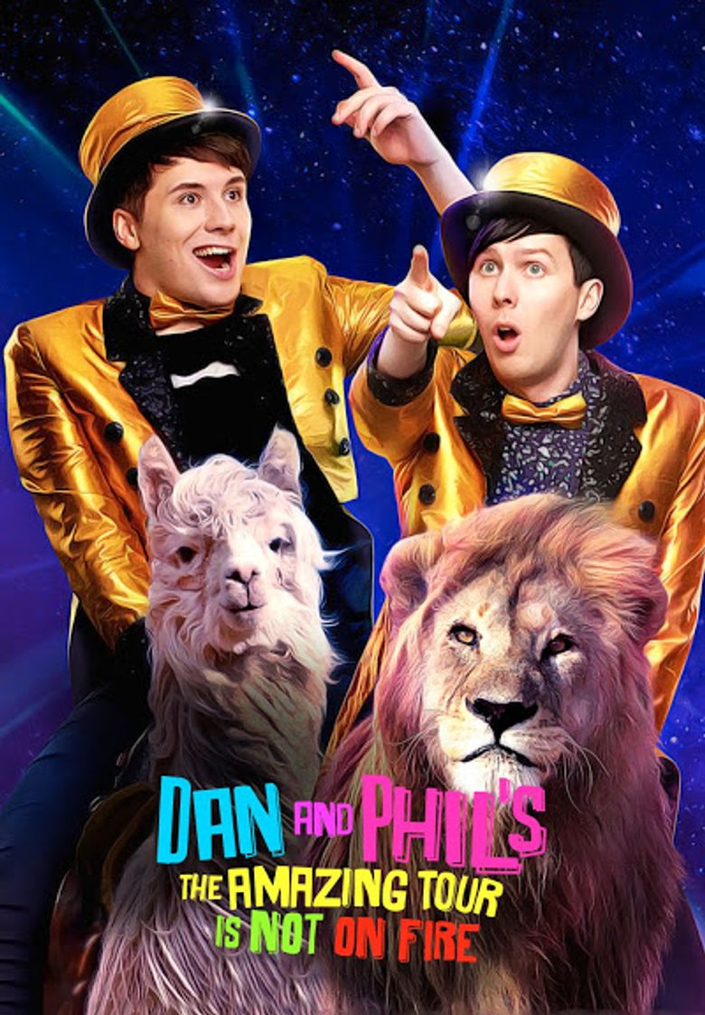 Dan and Phil's The Amazing Tour is Not on Fire Poster