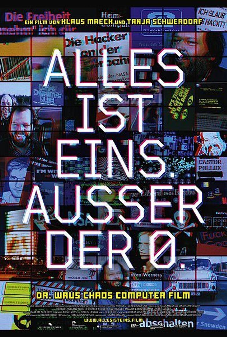 ALLES IST EINS. AUSSER DER 0. Poster
