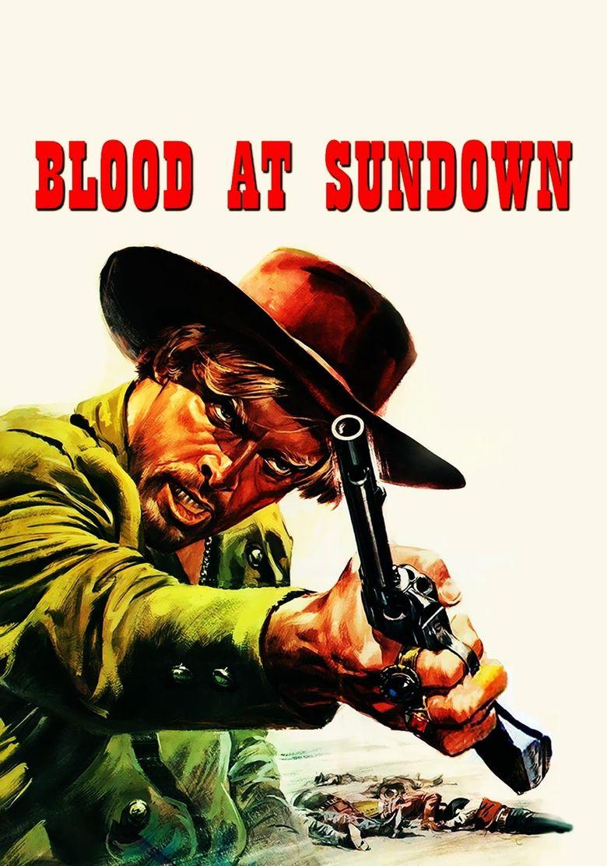 Blood at Sundown Poster