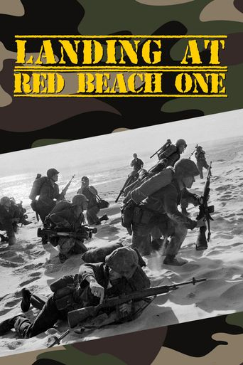 Landing at Red Beach One Poster