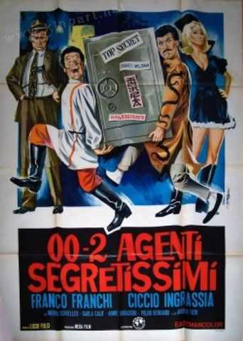 Oh! Those Most Secret Agents Poster