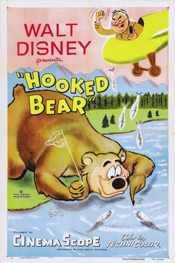 Hooked Bear Poster