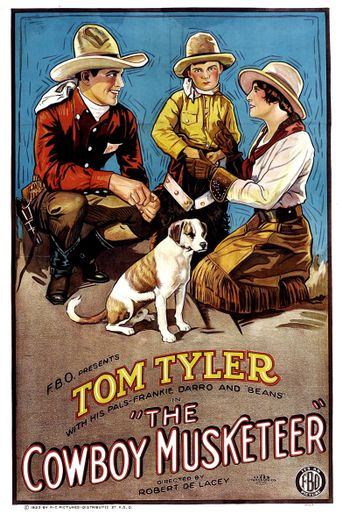 The Cowboy Musketeer Poster