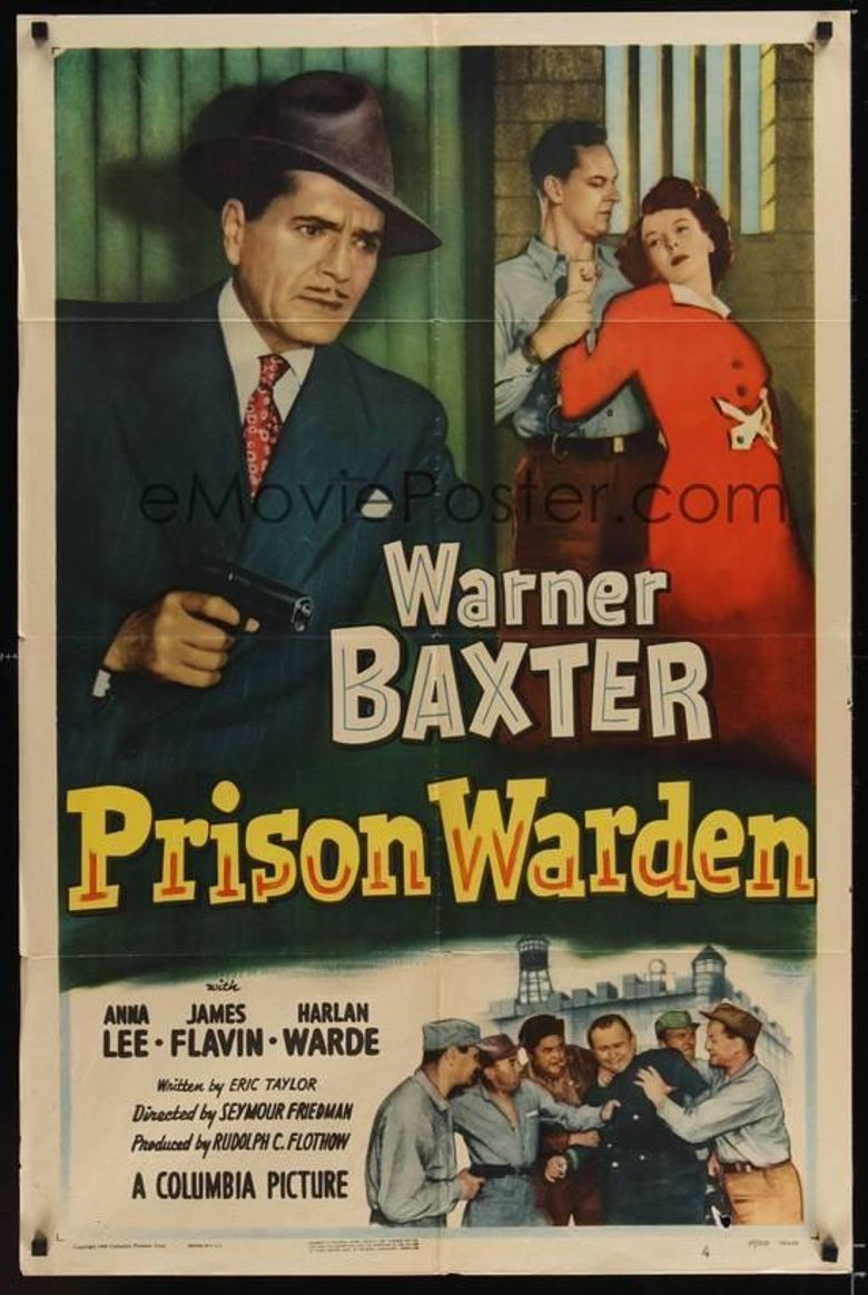 Prison Warden Poster
