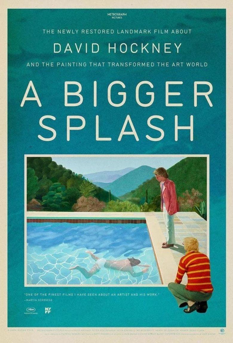 A Bigger Splash Poster