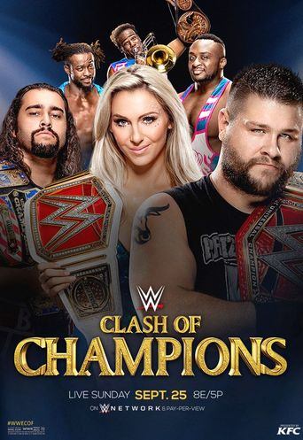 WWE Clash of Champions 2016 Poster