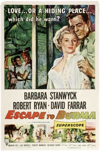 Escape to Burma Poster