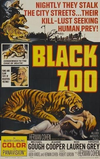Black Zoo Poster