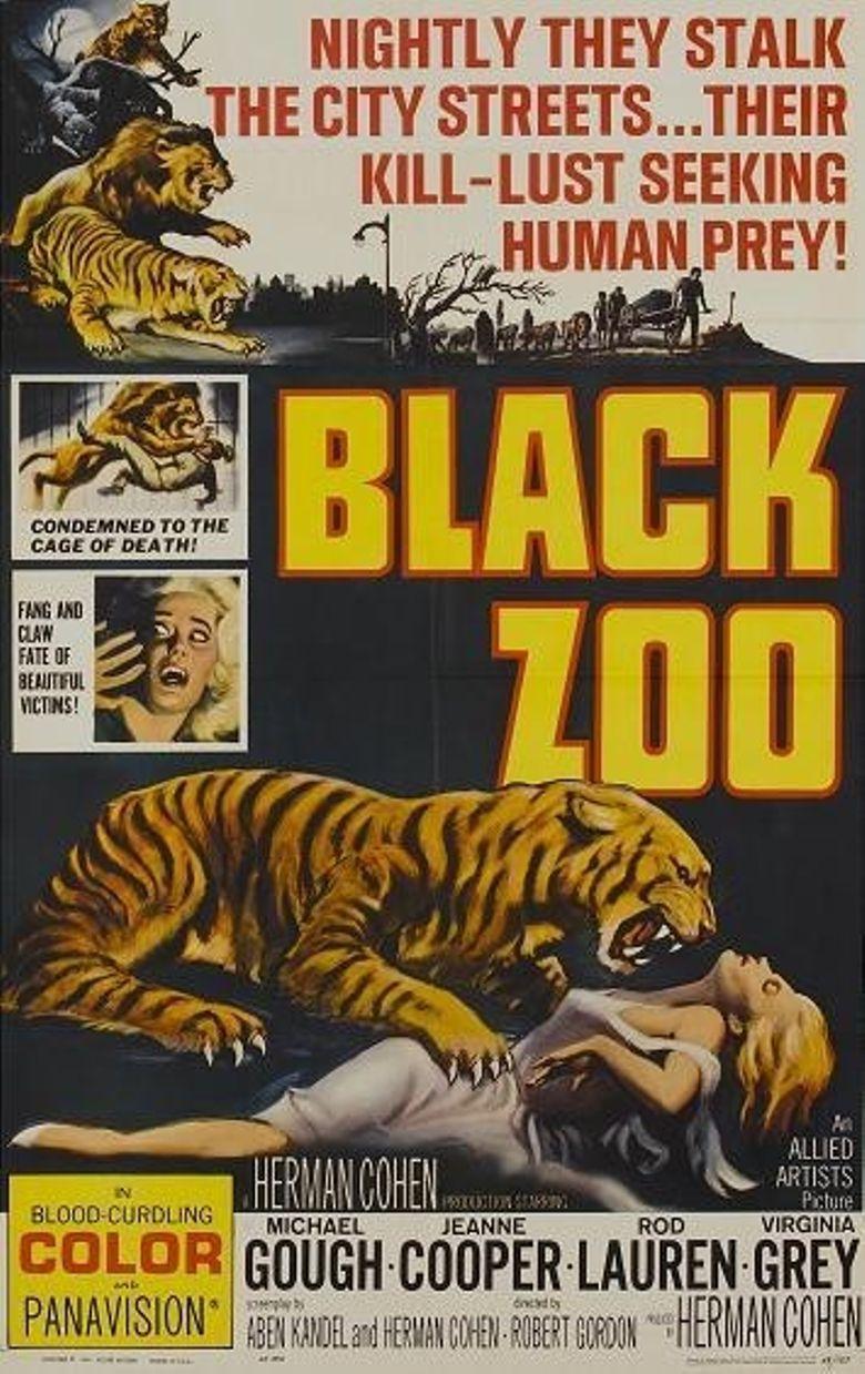 Black Zoo Poster
