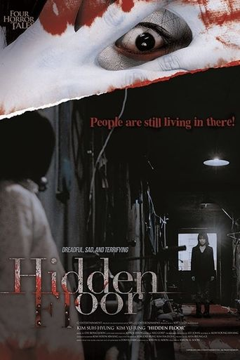 4 Horror Tales - Hidden Floor Poster