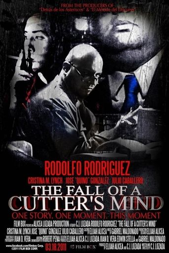 The Fall of a Cutter's Mind Poster